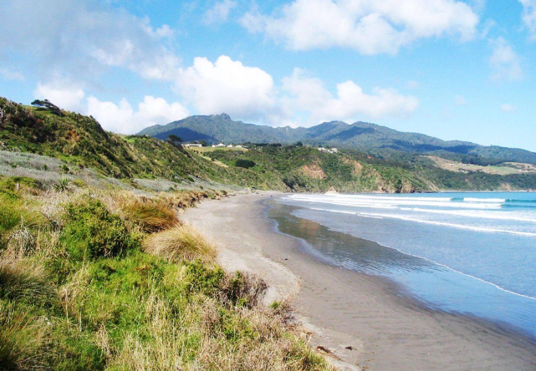 belle plage nouvelle zelande