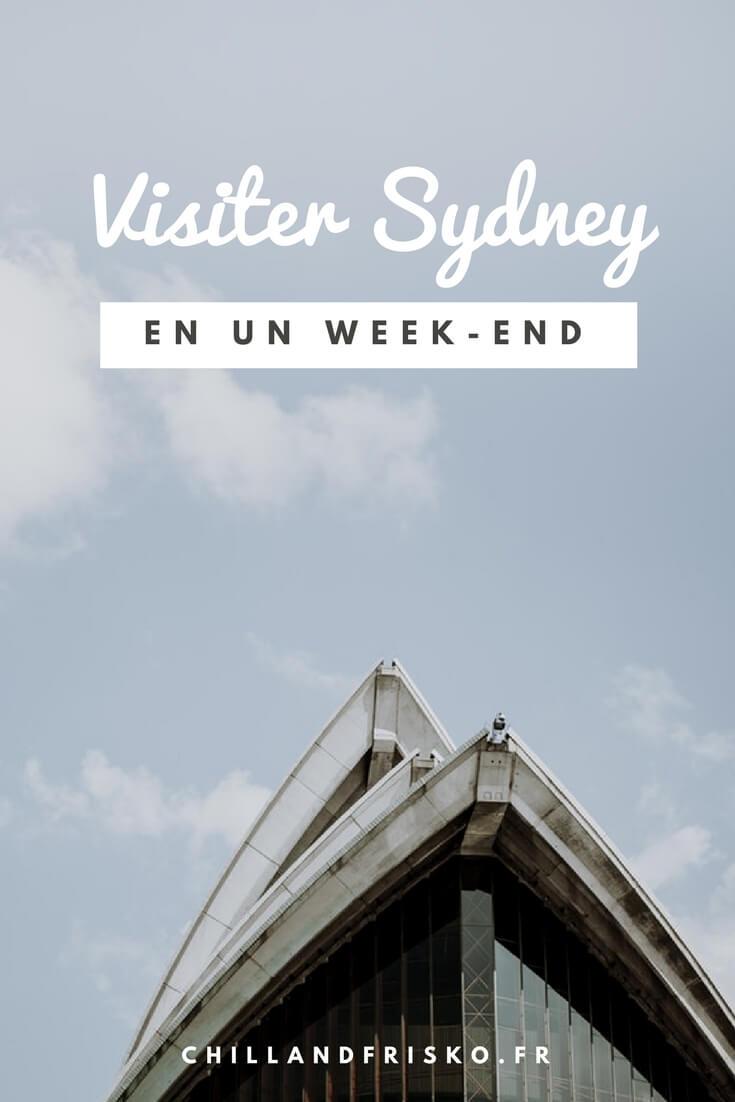 visiter sydney week end