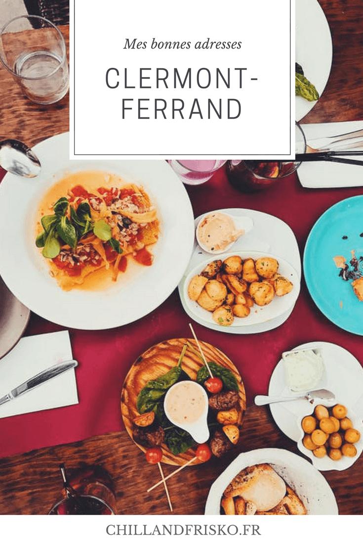 Tu ne sais pas ou manger ? Tu es de passage dans cette jolie ville ? Viens découvrir mes bonnes adresses à Clermont-Ferrand!