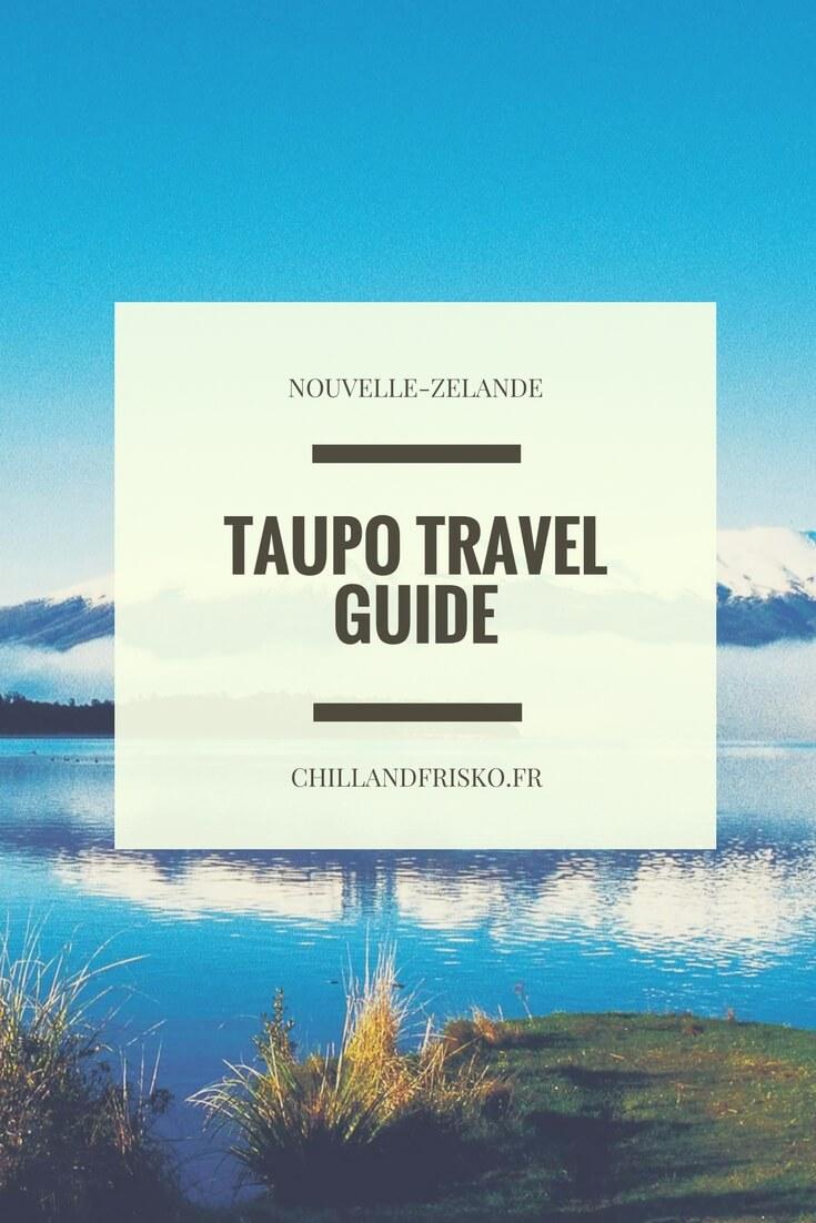 Taupo, connue pour son lac, son activité géothermique et ces activités à sensations fortes ! Au programme : croisière, hot pool et chute d'eau !