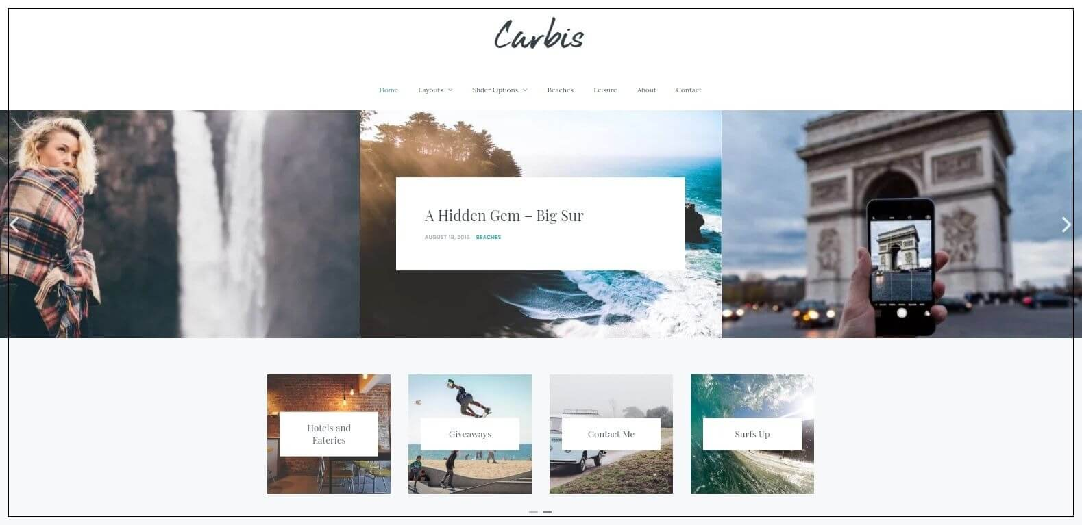 wordpress theme blog